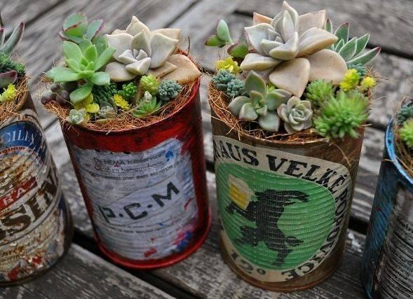 空き缶をリメイク!鉢や小物入れの作り方
