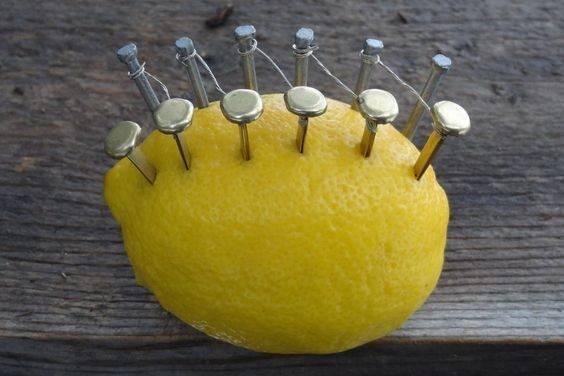 レモンで火を起こすDIY術!