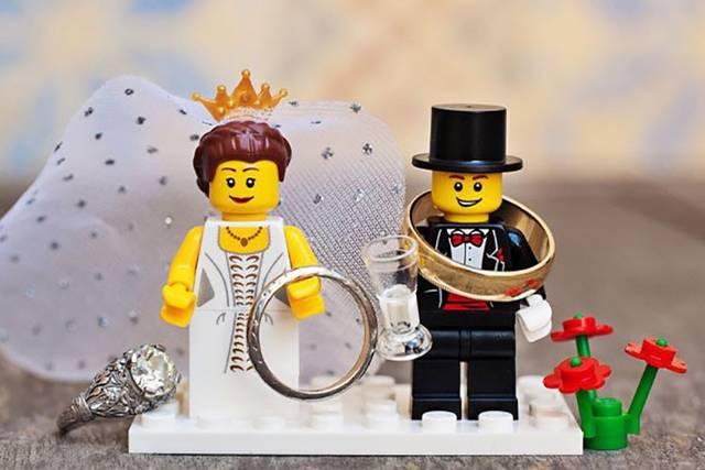 レゴでリングピローをDIY