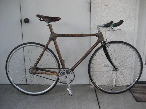 竹で自転車を作るDIY術!