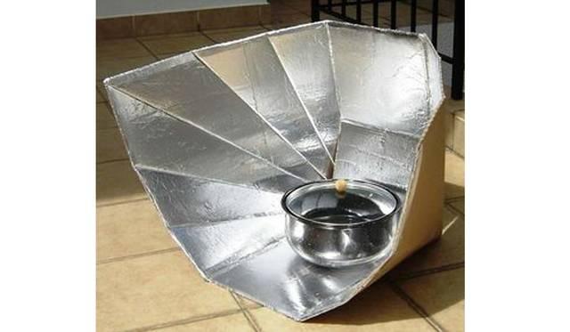 ソーラークッカーをダンボールで自作!太陽の光でご飯を炊こう!