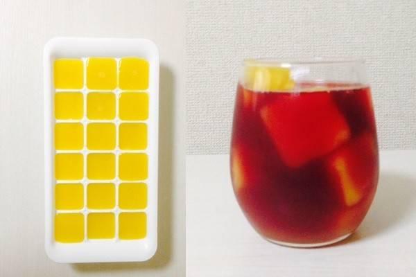 ワインとオレンジジュースで自家製サングリア