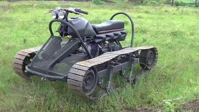 戦車?バイク?究極のサバイバルなモーターマシーンをDIY!