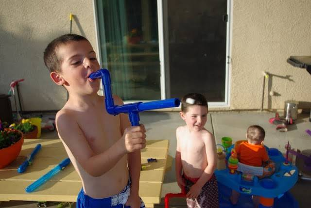 子供と一緒に遊ぼう!塩ビパイプでマシュマロ鉄砲をDIY!