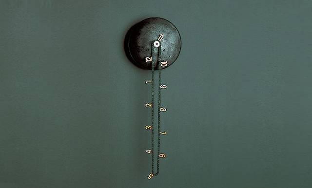 自転車のチェーンでアジのある壁掛け時計をDIY!
