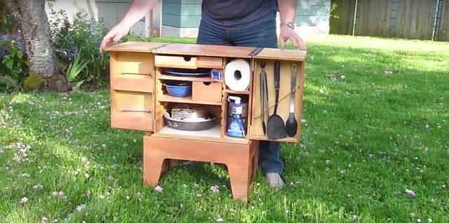 作りたい! コンパクトで便利なモバイルキッチン