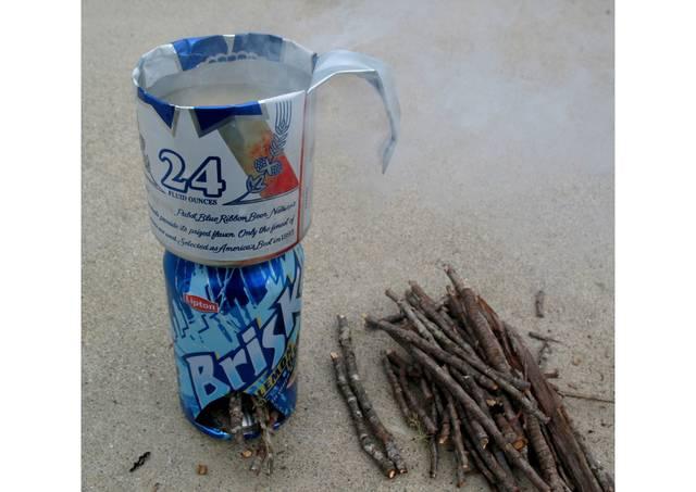 空き缶2つでストーブ&クッカーセットをDIY!