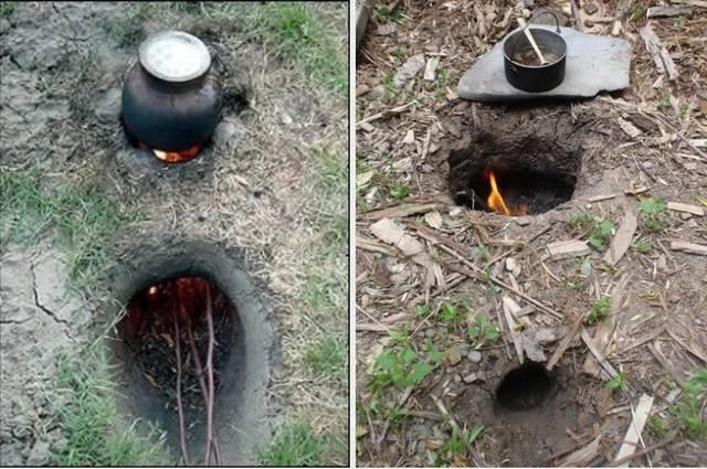 土に穴を掘ってBBQを楽しむDIY術!