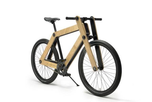 """自分で組みたてる木製自転車""""SANDWICH BIKE"""""""
