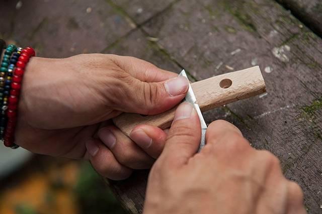 ナイフを身近な存在だと再認識させてくれるDIYキット