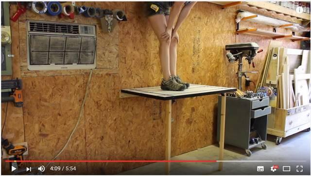狭いスペースを有効活用♪折りたたみ作業台のハウツーを2通り紹介!