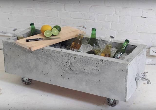 使い道いろいろ! 排水機能付きセメントボックスをDIY