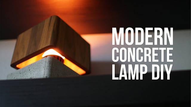 オシャレ!ライト部分が浮いているようなテーブルライトをDIY!