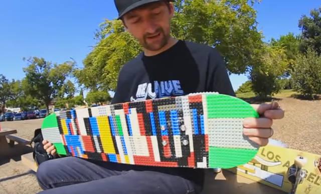 LEGOでスケートボードをDIY!