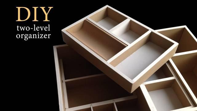 ダンボールDIY!棚にも合う仕分けボックスの作り方