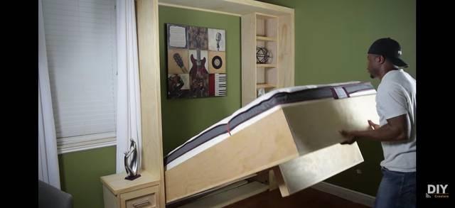 壁面収納ベッドをDIY!