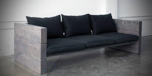 イケアのソファを使ってモダンなソファベンチをdiy Diyer S │リノベと暮らしとdiy。