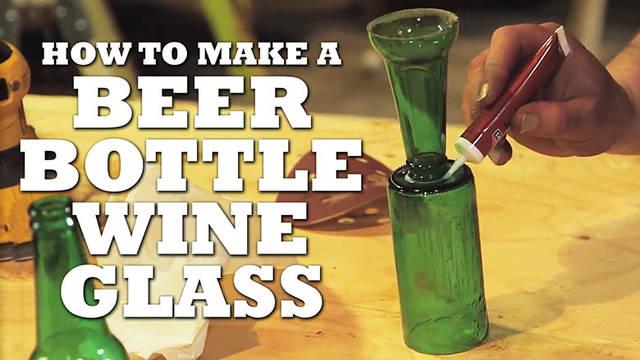 アップサイクル!瓶をカットしてワイングラスをDIY!