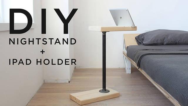 iPadホルダーとしても使えるテーブルスタンドをDIY!
