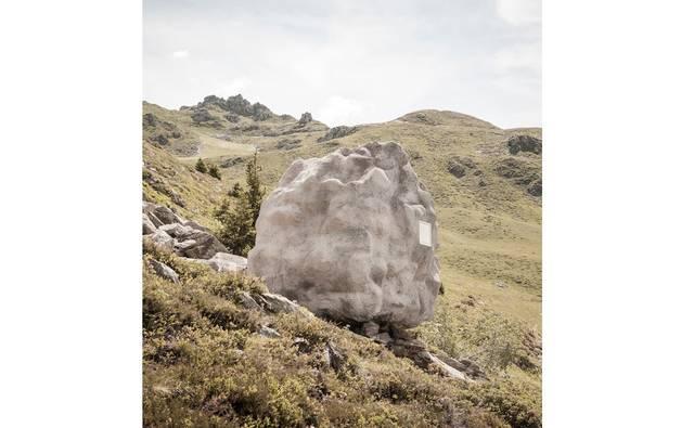 アルプスと暮らす岩のお家
