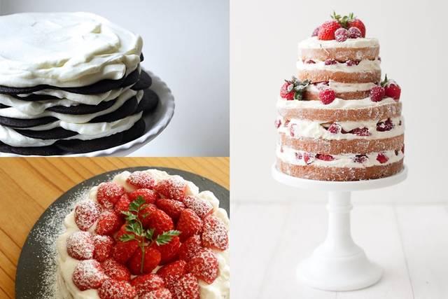 簡単!重ねるだけで作れる手作りケーキのアイデア集