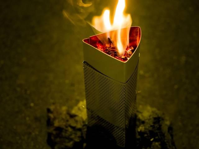 レジャーや防災に!ねじ釘不要、簡単「火おこし器」の作り方