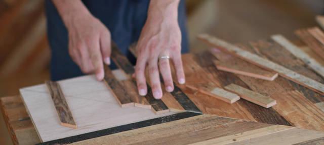 コーヒーテーブルをDIY!〜Reclaimed Wood(古材)を活用