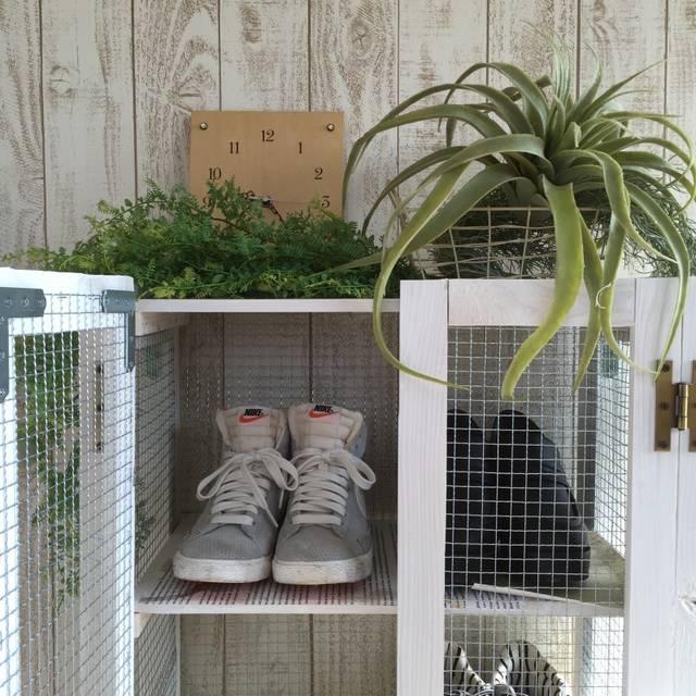 靴箱DIY