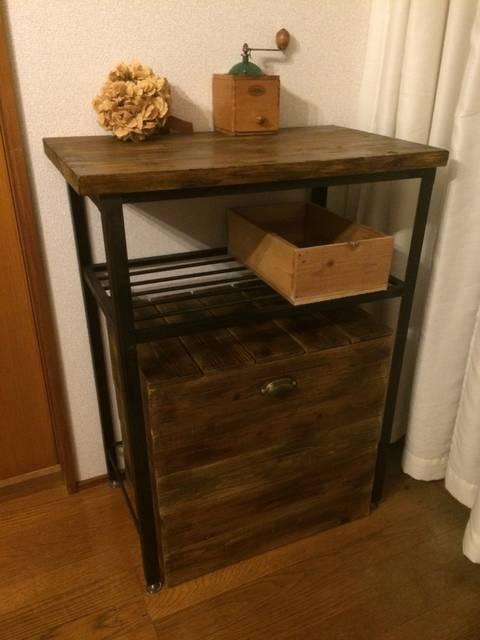 多目的テーブル&収納兼チェアーボックス
