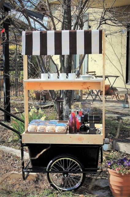 Mobile Coffee Stand