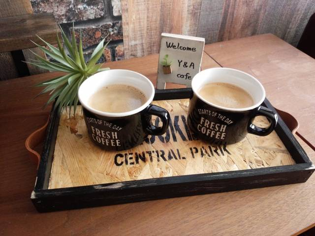 自分好みのカフェトレイで珈琲タイム