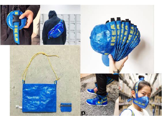 IKEAのバッグをリメイクでおしゃれにカスタム!