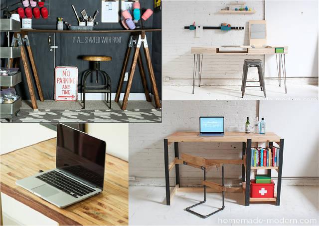 テーブル(机)DIYで創る理想のパソコンデスク&インテリア27選