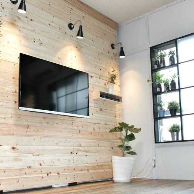 ラブリコで憧れの壁掛けテレビをDIY