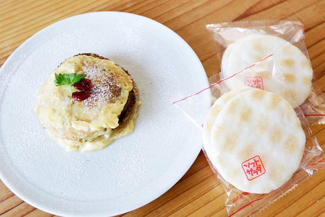 まさかのフワもち食感!おせんべいで作るフレンチトースト