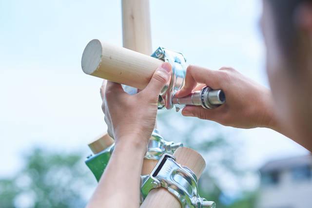 モクタンカン:森林と「単管システム」が生み出すやさしい素材/CIRCLE of DIY Vol.28