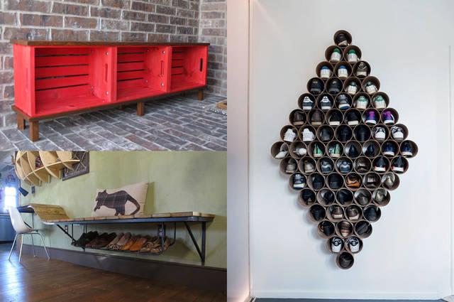 玄関をDIY!収納棚などのアイデア22選