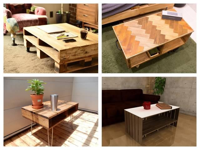 リビングに置きたい、ローテーブルのDIYアイデア17選!