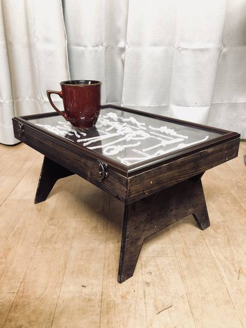 カフェテーブル風ノッティングボード
