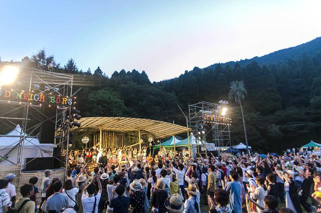 森の廃校を舞台に自然を満喫!真夏の文化祭が今年も開催!