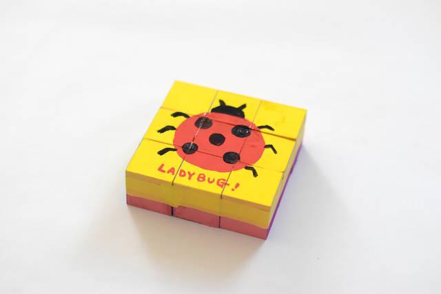 あそびのDIY:木片パズル