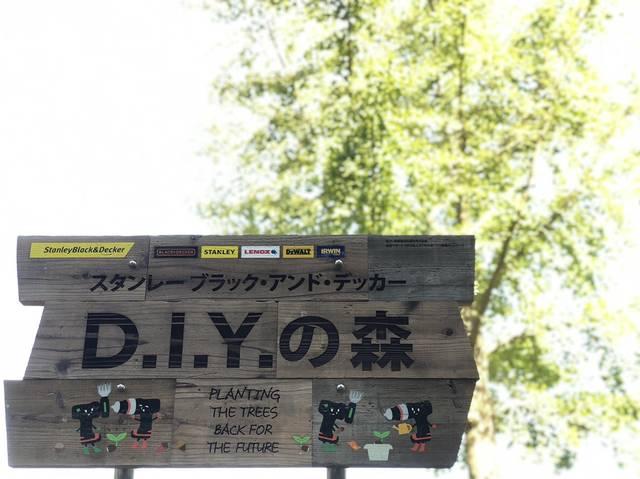 地球の未来のために!「D.I.Y.の森づくり」がスタート!
