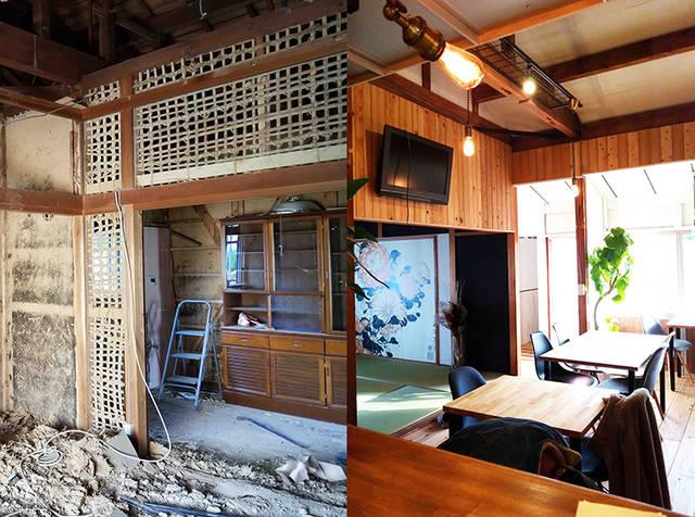 築45年超の古民家を夫婦でセルフリノベーション!自然に囲まれたゲストハウス&カフェ