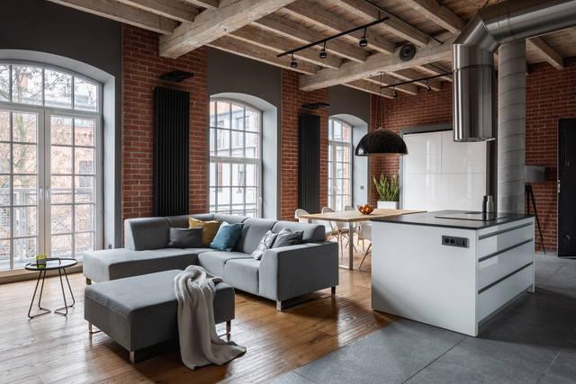 DIYで作ろう!キッチン周りのブルックリン風インテリア実例