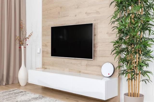 壁掛けテレビ設置例