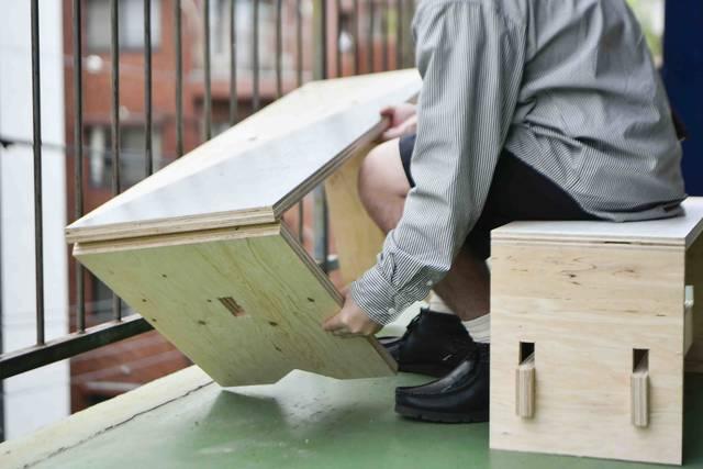 家中どこでもワークスペース!合板1枚から作れる折りたたみデスク&ベンチ