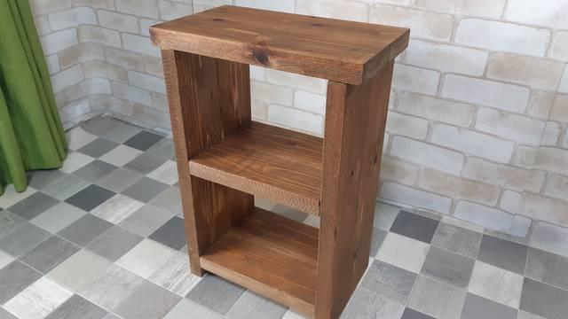 【簡単!】厚さ3cmの杉材で作るアンティーク2段ボックス