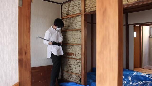 ハウトゥー古民家解体!壁・床・キッチンがなくなるまで