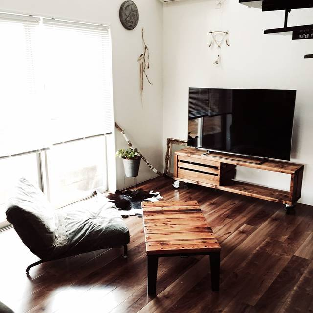 おしゃれなテレビ台のおすすめDIY実例22選!賃貸で出来るアイデアも