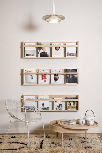 スッキリ収納を叶えるDIY本棚!賃貸可!壁に棚を自作するアイデア20選